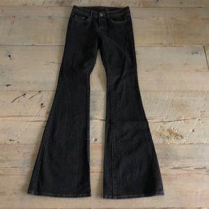 Denim - Rachel Zoe black flare jeans